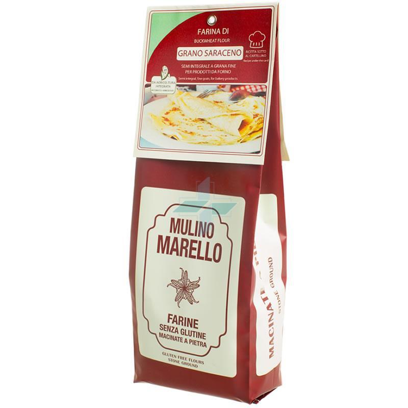 Azienda Agr. Mulino Marello Farina Di Grano Saraceno Senza Glutine 500 G