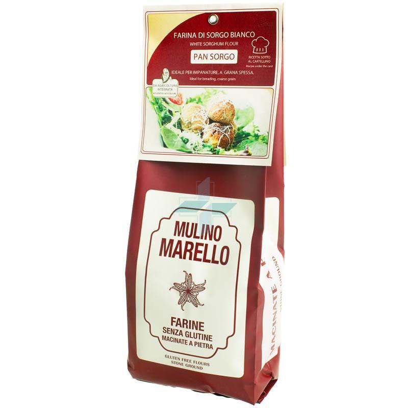 Azienda Agr. Mulino Marello Farina Di Sorgo Bianco Senza Glutine 500 G