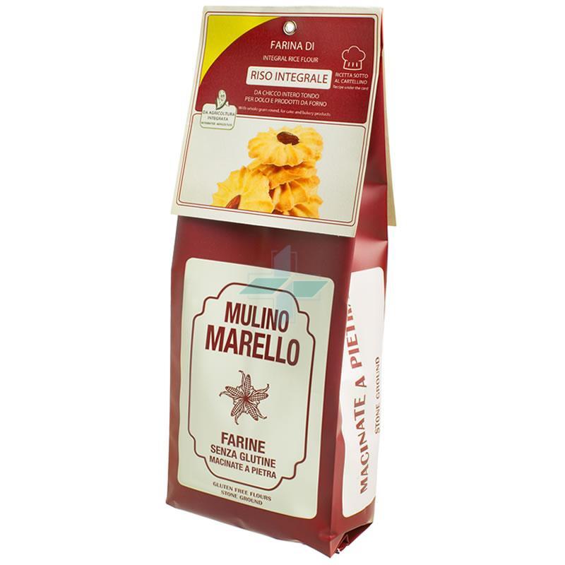 Azienda Agr. Mulino Marello Farina Di Riso Integrale Senza Glutine 500 G