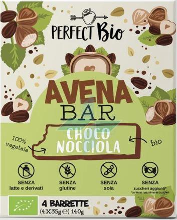Ambrosiae Perfect Bio Barretta Avena Bar Choco Nocciola Senza Glutine 4x35g