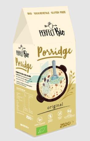 Ambrosiae Perfect Bio Preparato Vegetale Per Porridge Senza Glutine 250g