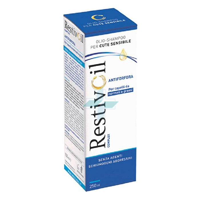 Perrigo RestivOil Complex Olio Shampoo AntiForfora Capelli Normali Grassi 250 ml
