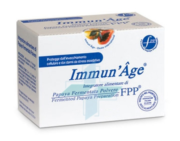 Named ImmunAge Papaya Polvere Integratore Papaia Lio 60 Buste Orosolubili