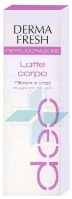 Dermafresh Linea Ipersudorazione Latte Corpo No Gas Deodorante 100 ml
