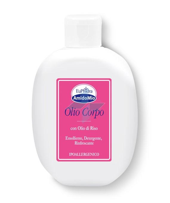 EuPhidra Linea AmidoMio Olio Corpo Emolliente Detergente Pelli Sensibili 200 ml