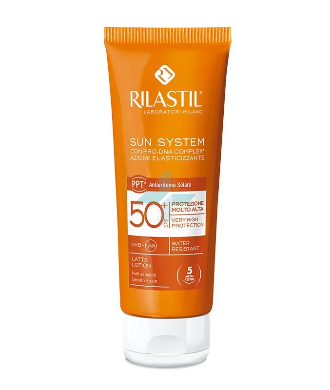 Rilastil Linea Sun System PPT SPF50+ Latte Solare Elasticizzante Corpo 100 ml