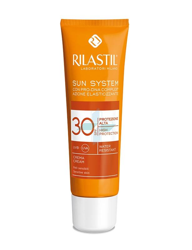 Rilastil Linea Sun System PPT SPF30 Crema Solare Elasticizzante Viso 50 ml