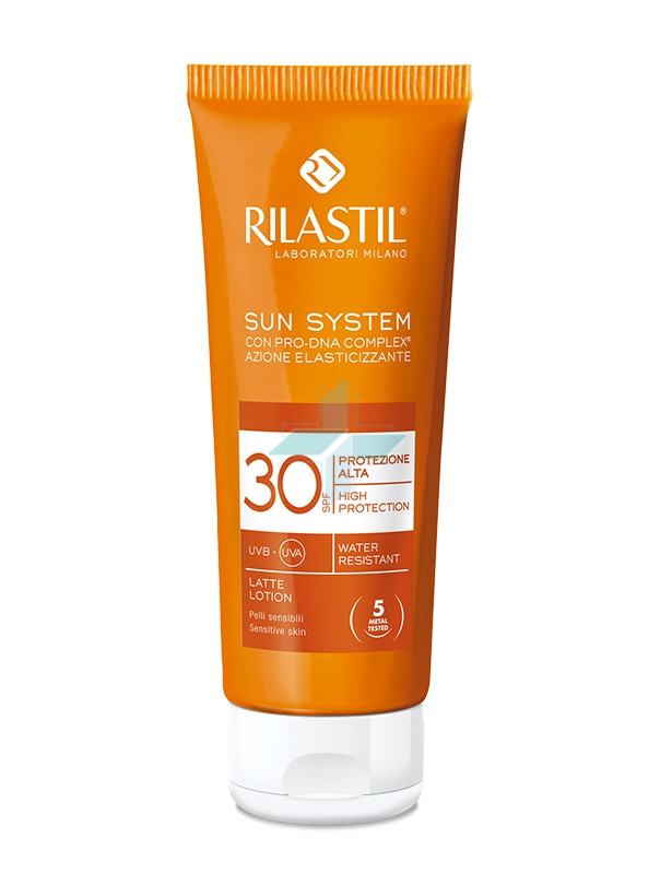 Rilastil Linea Sun System PPT SPF30 Latte Solare Elasticizzante Corpo 100 ml