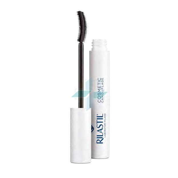 Rilastil Make-up Linea Camouflage Mascara Rinforzante Allungante Nero 11 ml