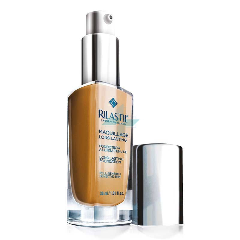 Rilastil Make-up Linea Maquillage Long Lasting Fondotinta Lunga Tenuta 30 Honey