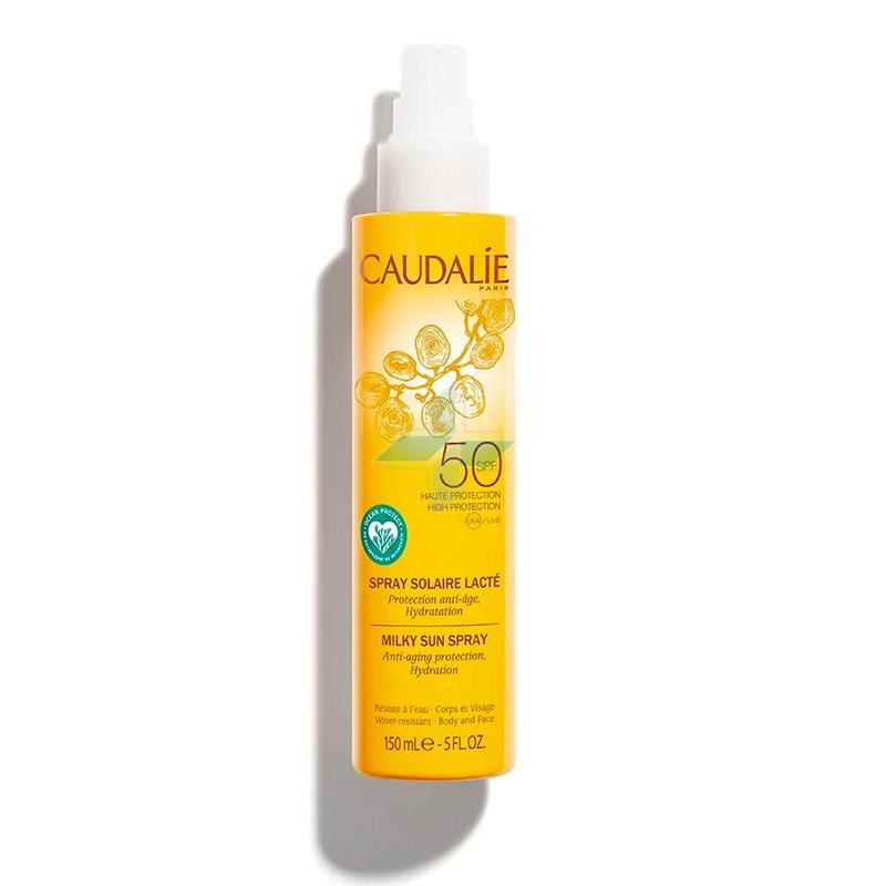 Caudalie Linea Solari SPF50 Latte Spray Solare Idratante Viso Corpo 150 ml