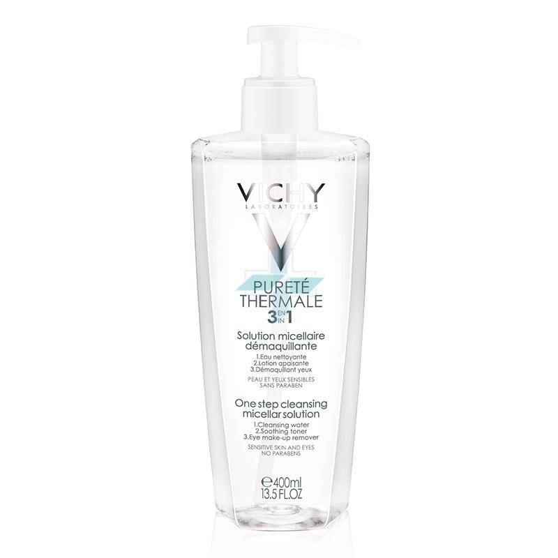 Vichy Linea Purete Thermale Viso 3 in 1 Soluzione Micellare Struccante 400 ml