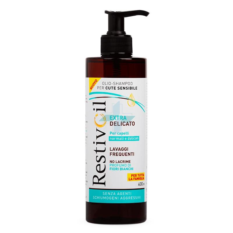 Perrigo RestivOil Extra Delicato Olio Shampoo Capelli Normali No Lacrime 400 ml
