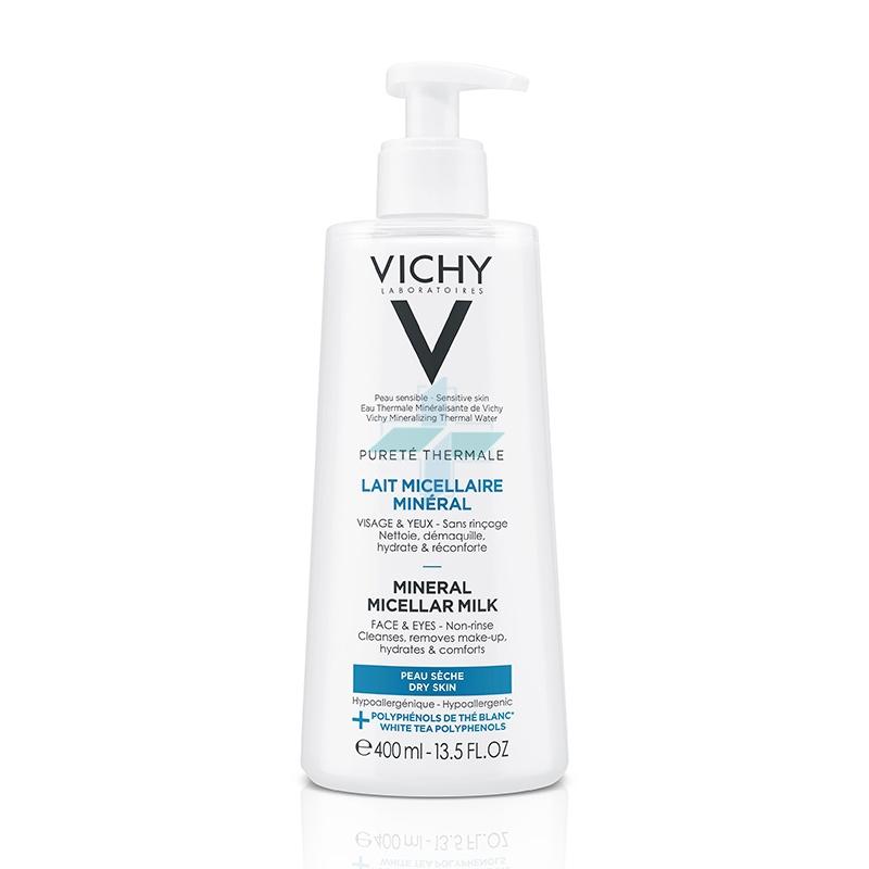 Vichy Linea Purete Thermale Viso Latte Detergente Micellare Minerale 400 ml