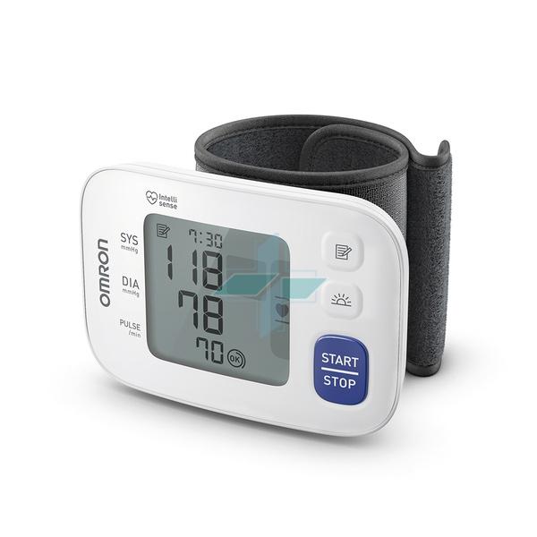 Omron Sfigmomanometro Polso RS4 Misuratore Pressione Digitale